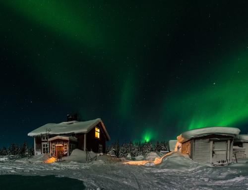 Einmal Lappland ohne Strom und Wasser erleben