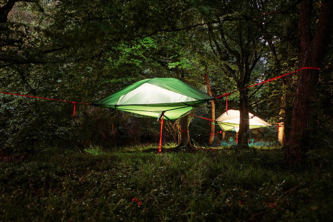 Im Zelt Schlafen : Schlafen im baumzelt abenteuerreich