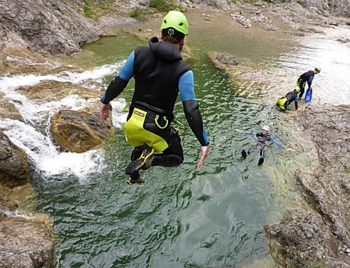 Canyoning – der Spaß geht weiter