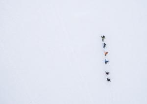 abenteuerreich erlebnistouren, schneeschuhwanderung, hüttenübernachtung, allgäu, geführte Schneeschuhwanderung
