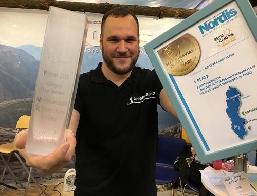 Scandinavian Travel Award – 1. Platz – Bester Reiseveranstalter