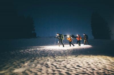 abenteuerreich Erlebnistouren, Schneeschuhwanderung, Fackelwanderung, Alpen