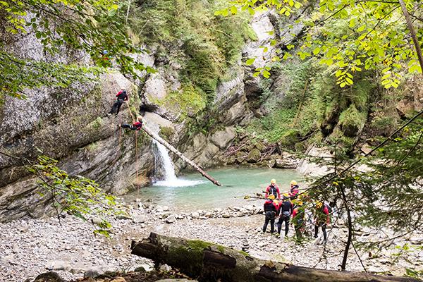 Klettergurt Für Anfänger : Canyoning für einsteiger abenteuerreich.de