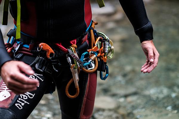 Klettergurt Für Einsteiger : Canyoning für einsteiger abenteuerreich