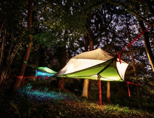 Bericht in der Stuttgarter Zeitung – Übernachten im Baumzelt