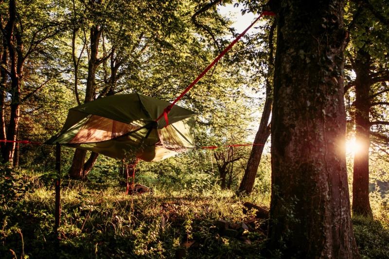 abenteuerreich Erlebnistouren, Baumzelt, Baumhängezelt, JGA, übernachten im Baum, besondere Übernachtung