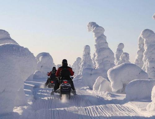 Abenteuertage – ein Winter in Finnland