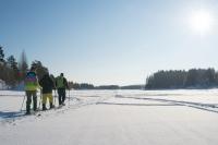 abenteuerreich erlebnistouren, lappland, schweden, schneeschuh, schneeschuhtour, geführte tour