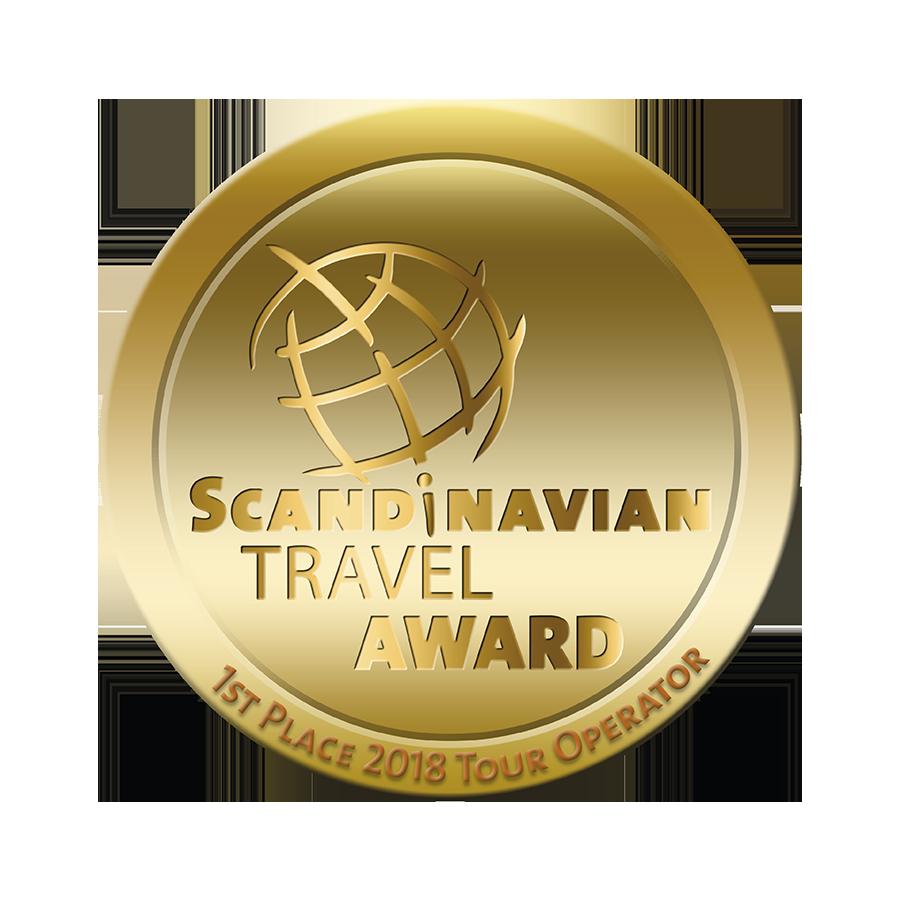 abenteuerreich, erlebnistouren, nordis, scandinavien travel award, messe essen, bester reiseveranstalter, lappland, schweden, mala, 1.platz, auszeichnung reisen, gold, travel award