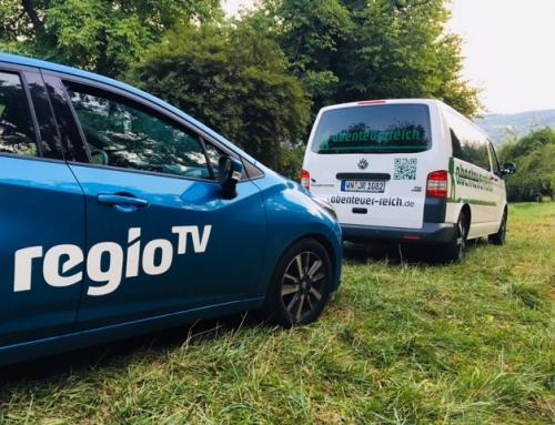 Regio TV Reportage über unsere Baumzelte am 09.08.2018