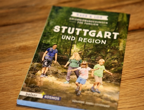 """Buchvorstellung """"Stuttgart und Region"""" von Susanne Zabel-Lehrkamp"""